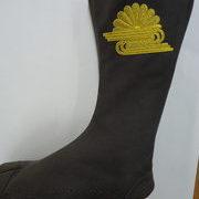 祭刺繍 地下足袋刺繍 菊水紋