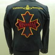 レディースのジャケットに氣志團刺繍