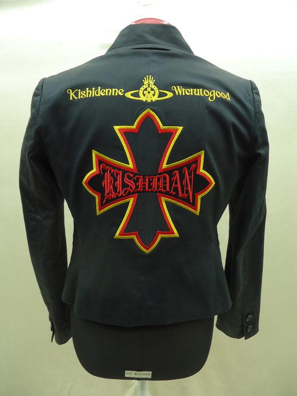 レディースのジャケットに氣志團刺繍のサムネイル