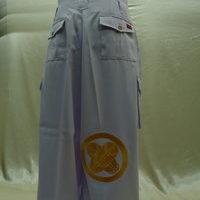 ホストクラブKING DOM様 看板特攻服刺繍 白ロング上下刺繍のサムネイル