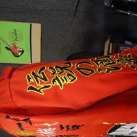 還暦祝いの赤特攻ロング刺繍 大きな般若のサムネイル