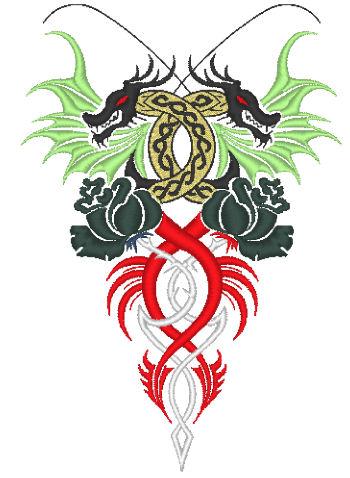龍と薔薇トライバル