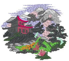 野山と社寺