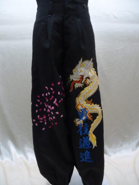 卒ラン刺繍
